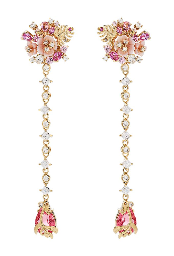 Anabela Chan PADPARADSCHA PARADISE DROP EARRINGS