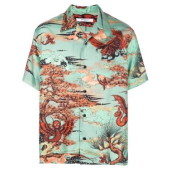 Mystical Creatures Printed Shirt