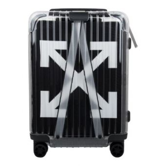 Off-White Rimowa Virgil Abloh Transparent Suitcase Black