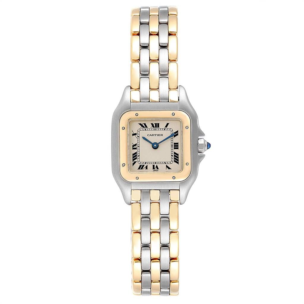 Cartier PANTHERE LADIES STEEL YELLOW GOLD 3 ROW LADIES WATCH W25029B6