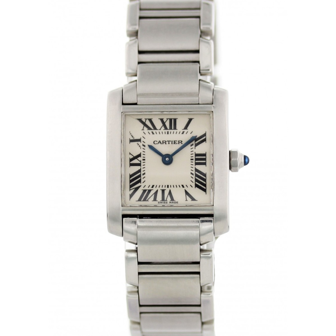 Cartier Tops TANK FRANCAISE 2384 LADIES WATCH