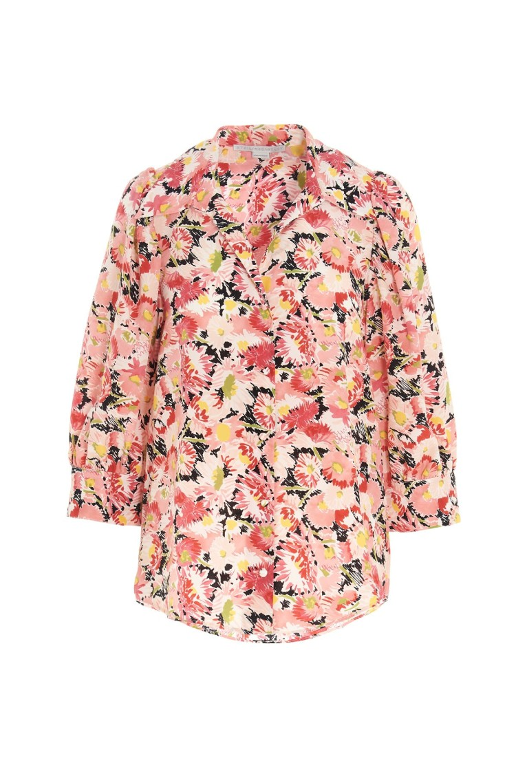 Stella Mccartney MULTICOLOR SILK SHIRT