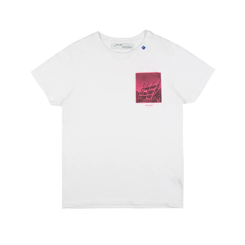 Off-White Halftone Arrows T-Shirt In White