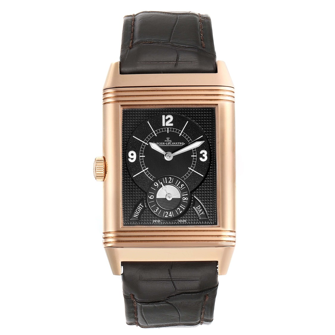 Jaeger-lecoultre Grande Reverso Duodate Rose Gold Watch 273.2.85 Q3742521 In Not Applicable