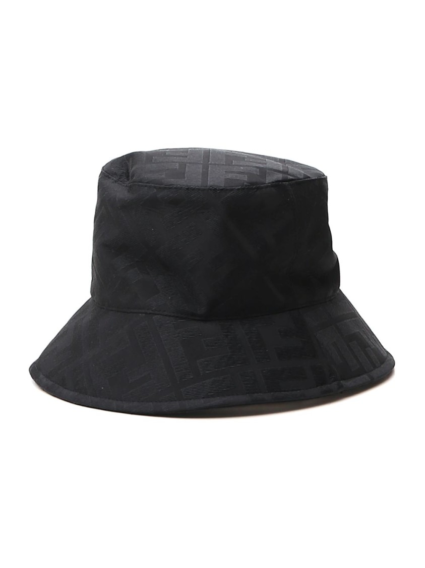 Fendi Hats BLACK SILK HAT