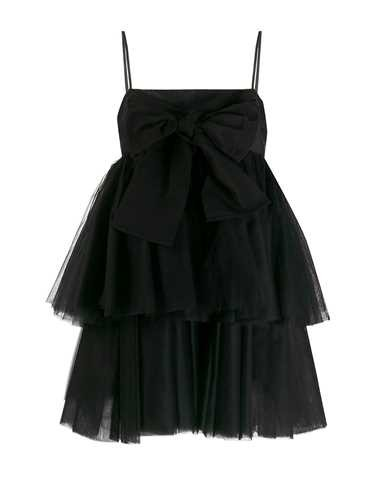 Brognano BLACK DRESS WITH TULLE