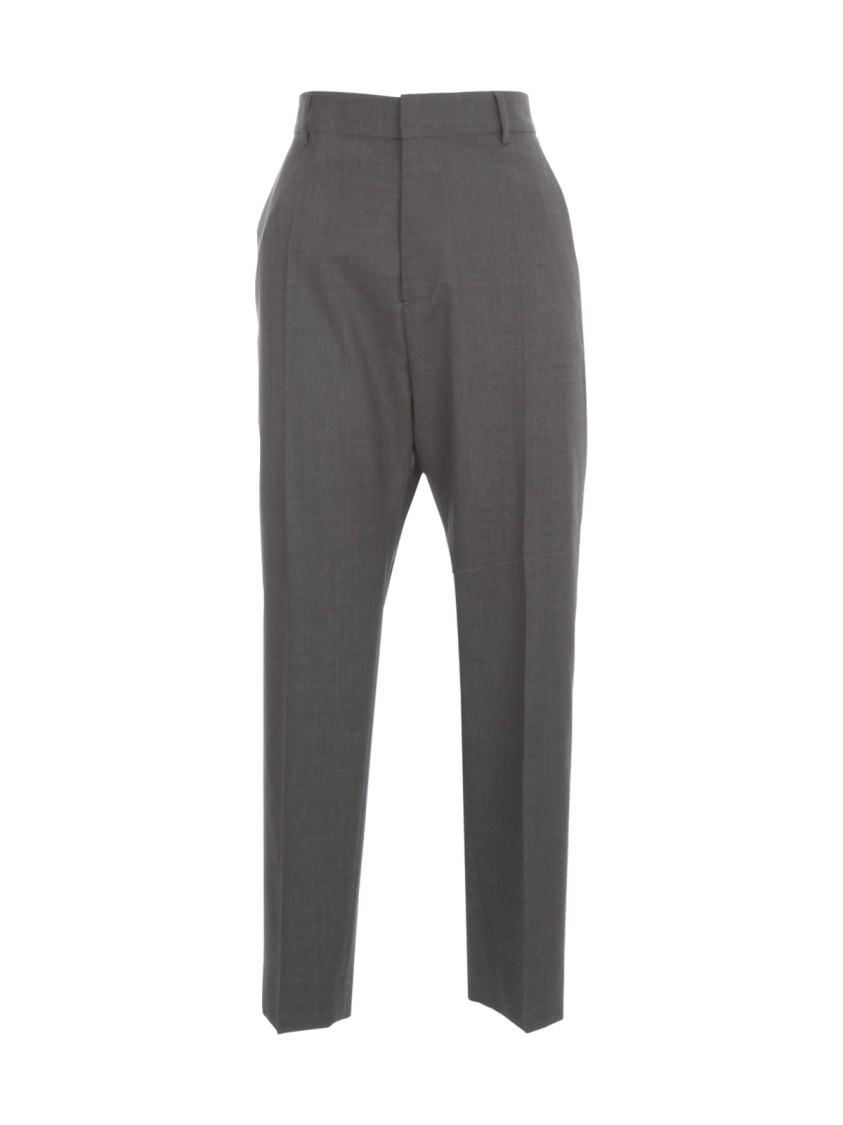 Dsquared2 Wools HIGH WAISTED TROPICAL WOOL STRECH PANTS