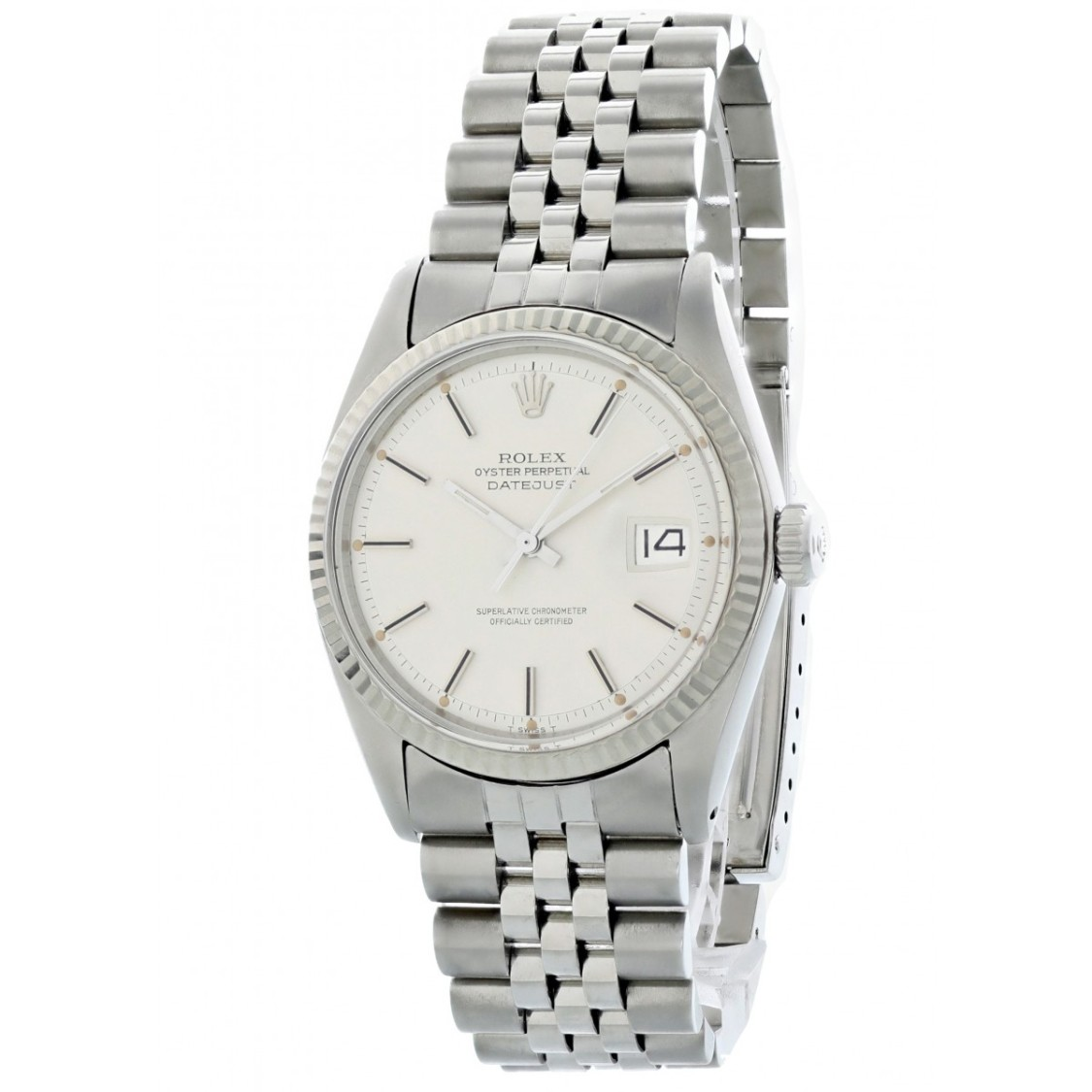 Rolex Lingerie OYSTER PERPETUAL DATEJUST 1601 MENS WATCH