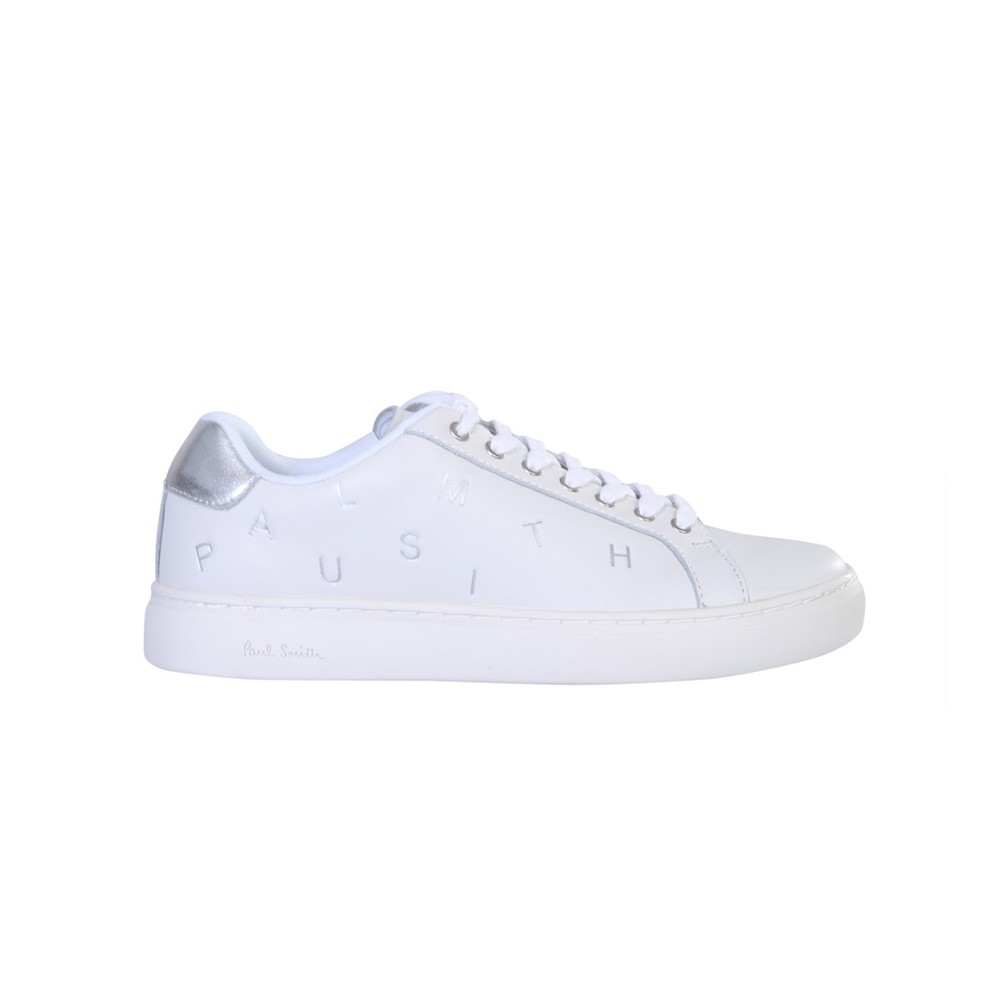 Paul Smith LAPIN WHITE LEATHER SNEAKERS
