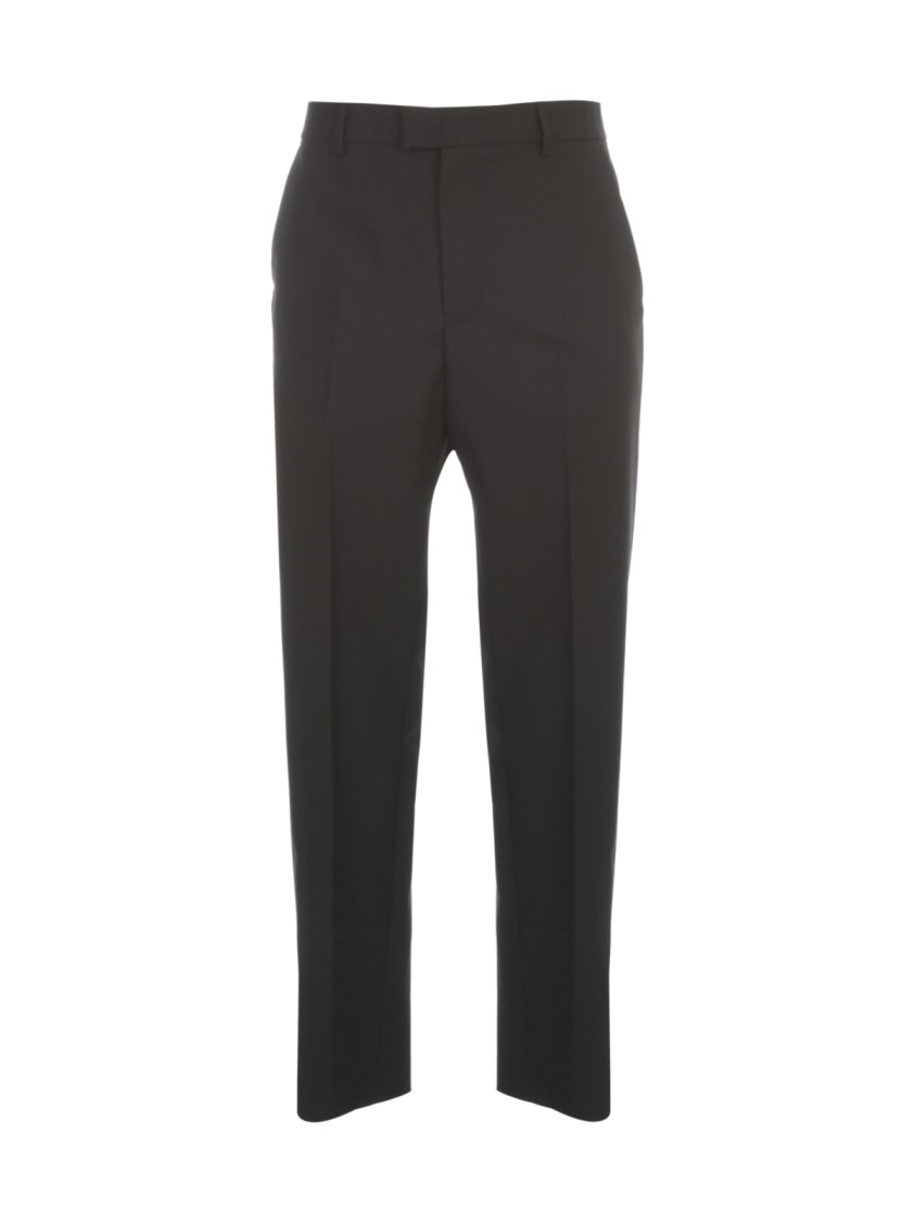 Les Hommes CLASSIC PANTS W/ VERTICAL CUTS AND VELCRO ON BOTTOM