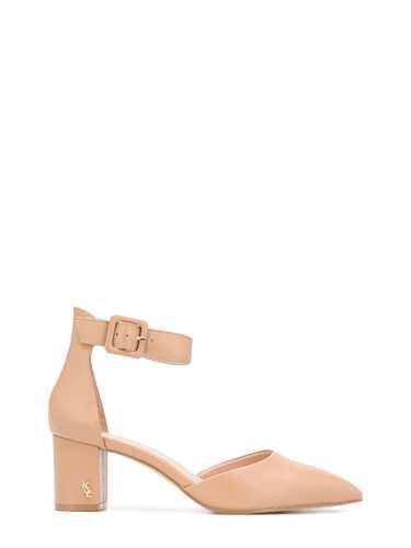 Kurt Geiger BEIGE LEATHER 'BURLINGTON' SANDALS