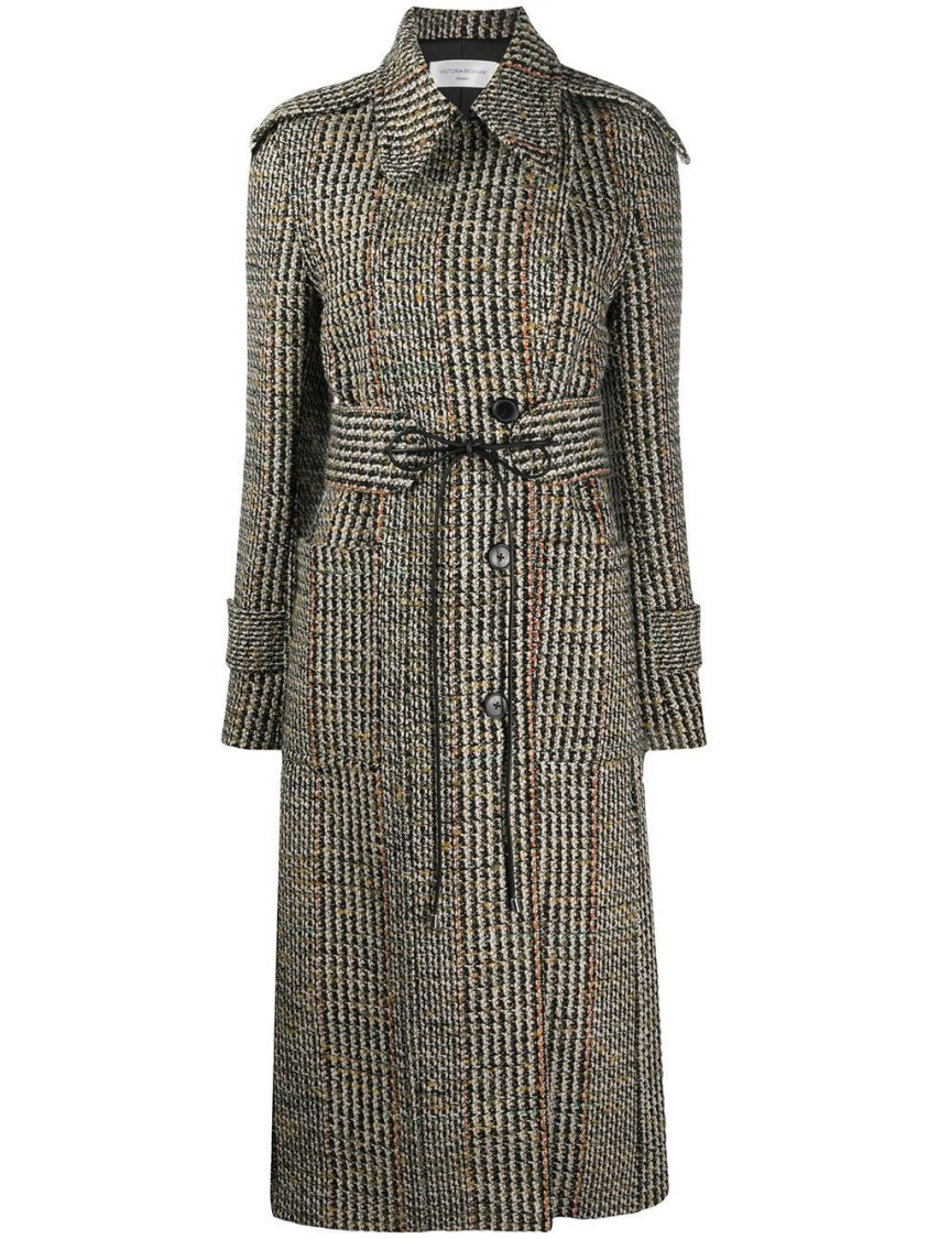 Victoria Beckham FITTED WOOL COAT