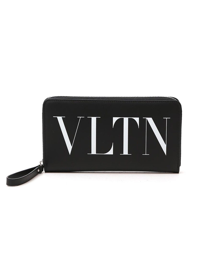Valentino Garavani Black Leather Wallet