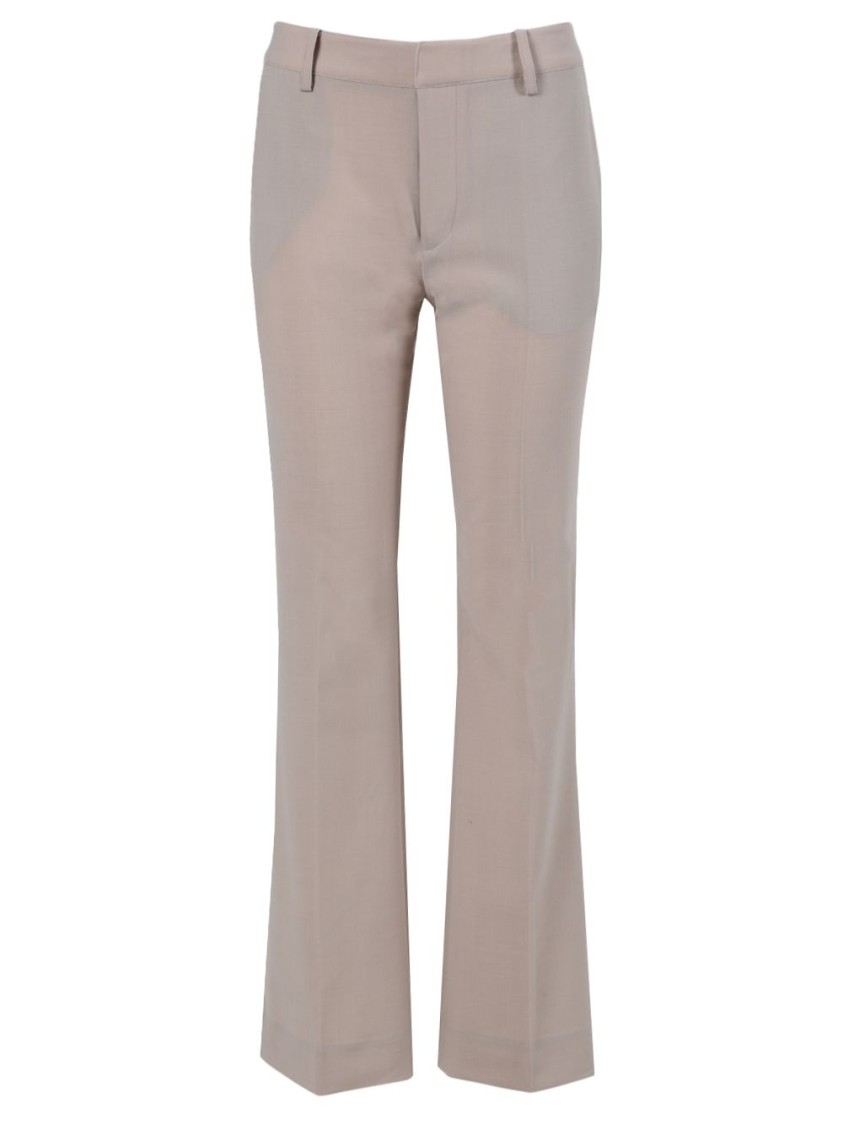 Co BEIGE FLARED TROUSERS