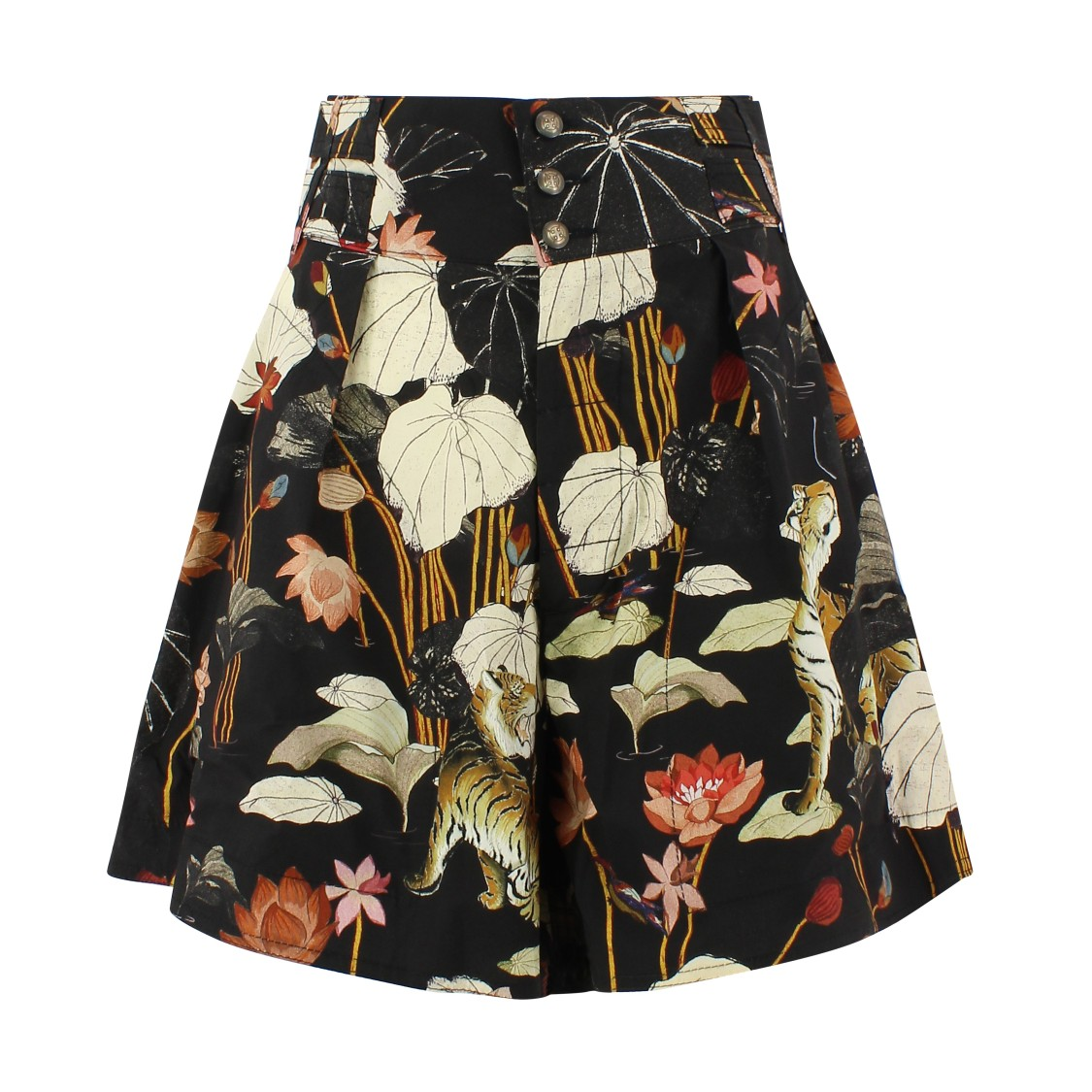 Etro Cottons FLORAL PRINTED SHORTS