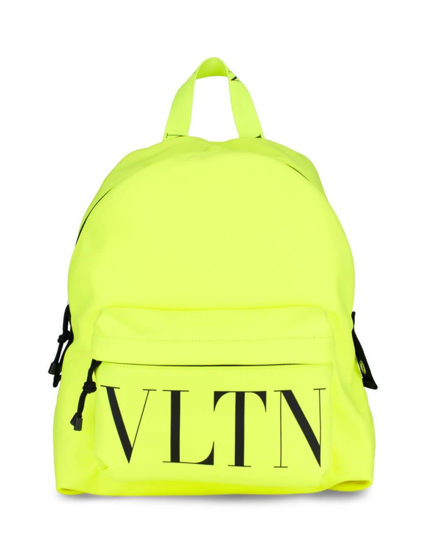Valentino YELLOW POLYESTER BACKPACK