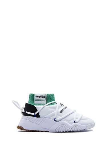 White 'puff Trainer' High top Sneakers