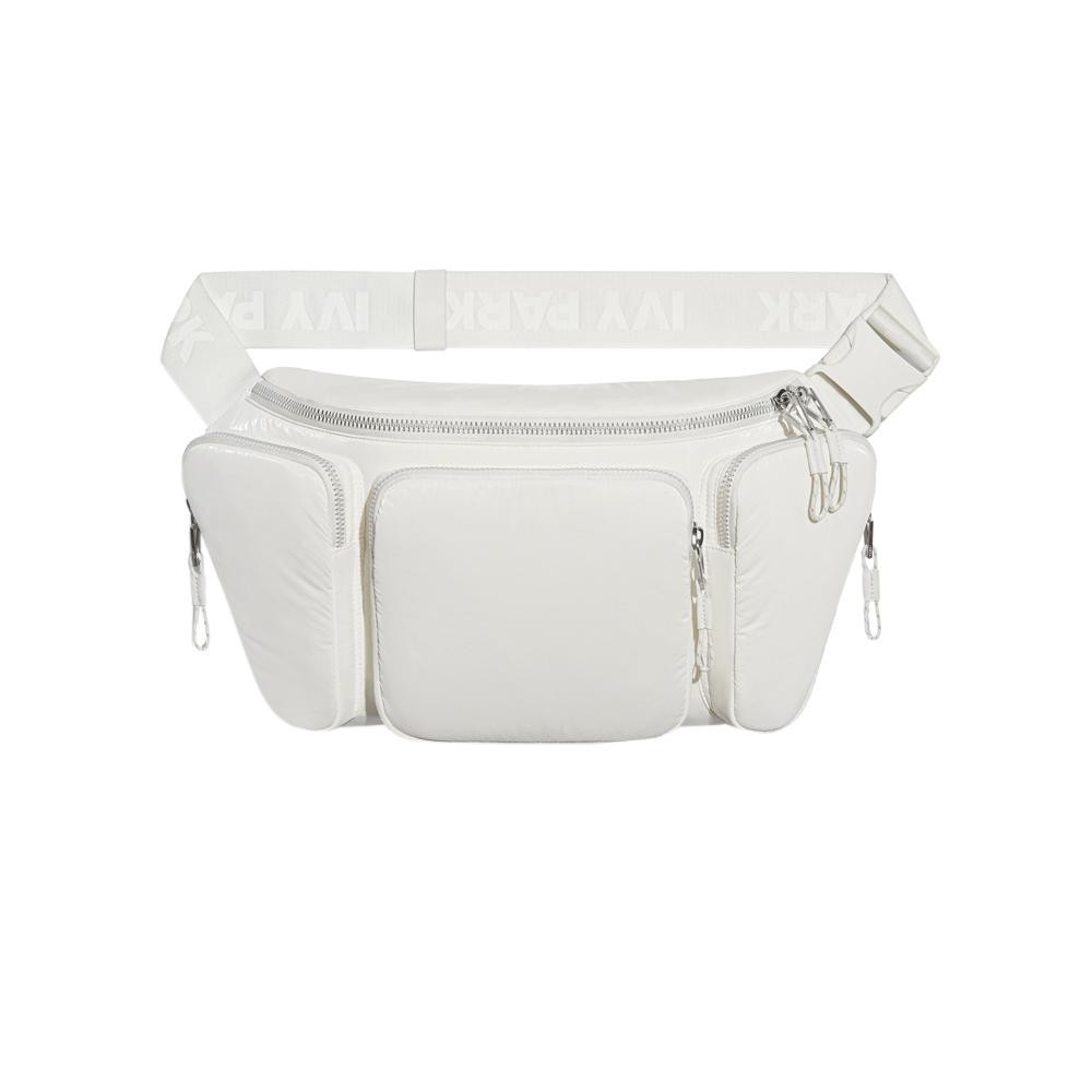 Adidas Originals IVY PARK OVERSIZED WAIST BAG (WHITE)