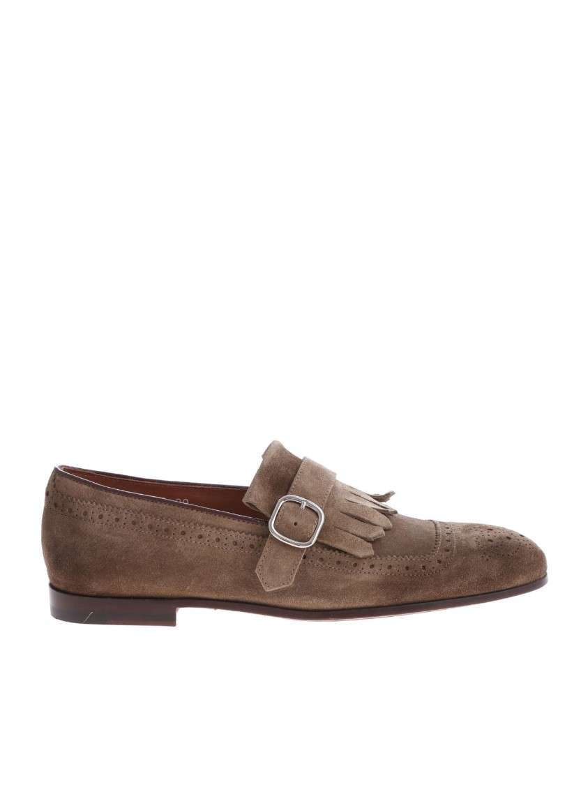 Doucal's Loafer Suede Du1622capruf068mw08