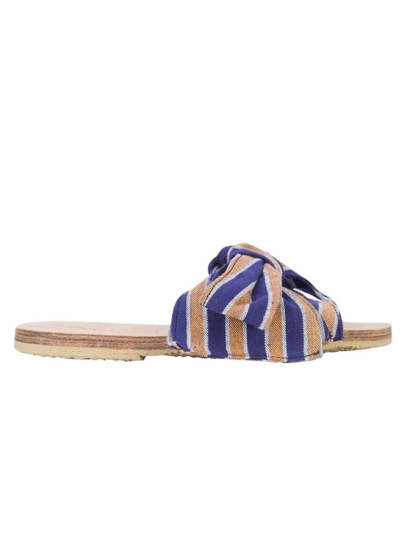 Brother Vellies BURKINA STRIPED SANDAL