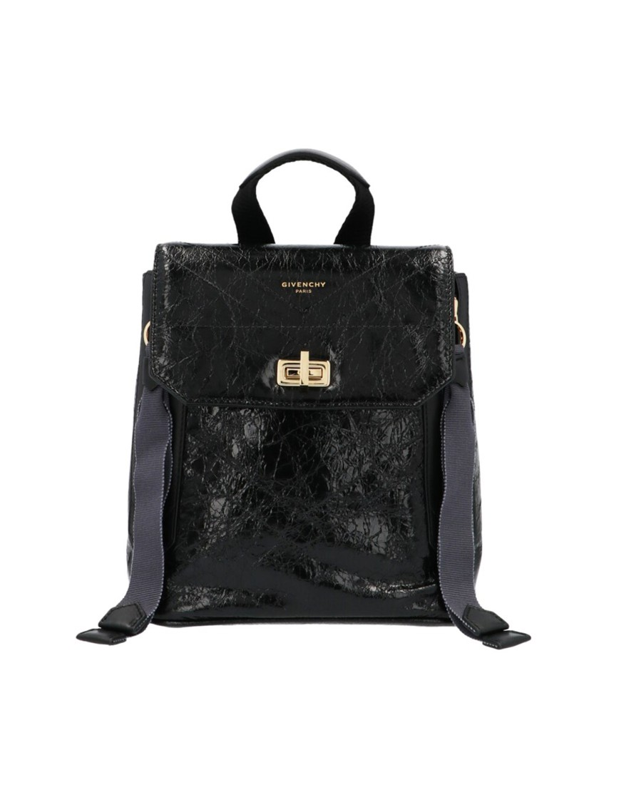 Givenchy ID BLACK LEATHER BACKPACK