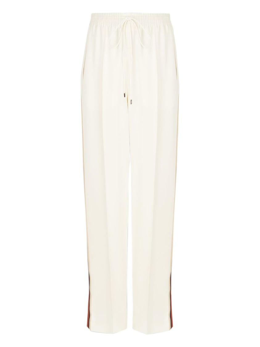 Chloé HIGH-WAISTED DRAWSTRING PANTS