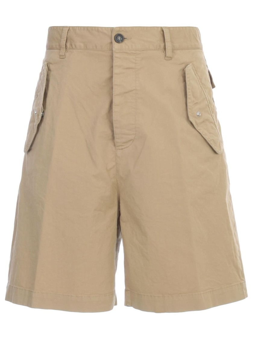 Dsquared2 Cottons COTTON SHORTS
