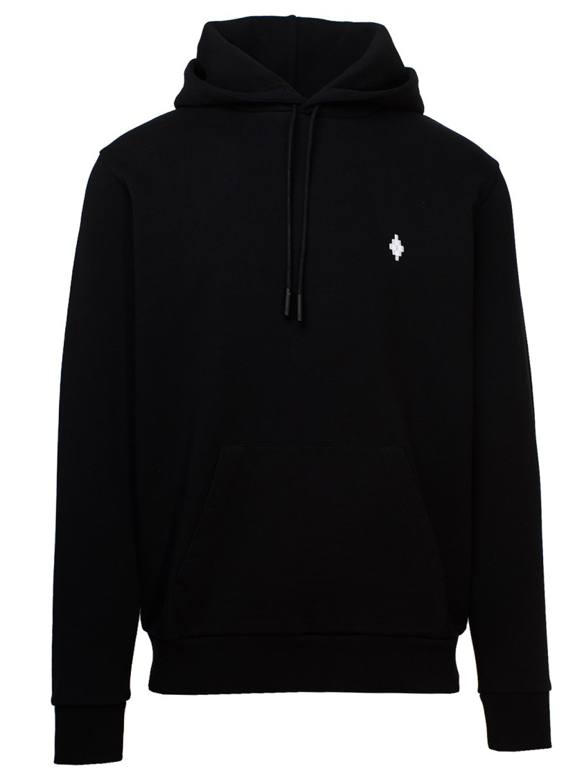 Marcelo Burlon County Of Milan BLACK COTTON SWEATSHIRT