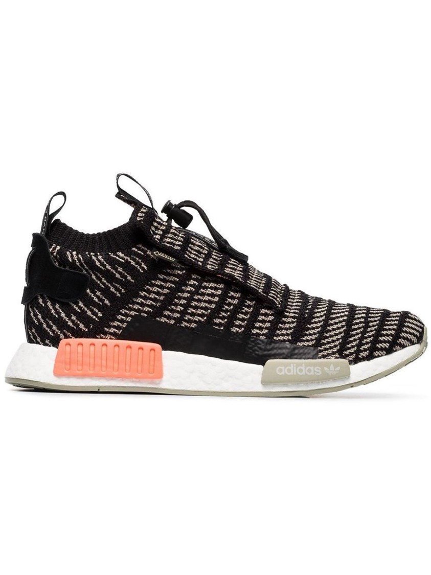 Adidas Originals NMD TS1 PK GTX BLACK POLYESTER SNEAKERS