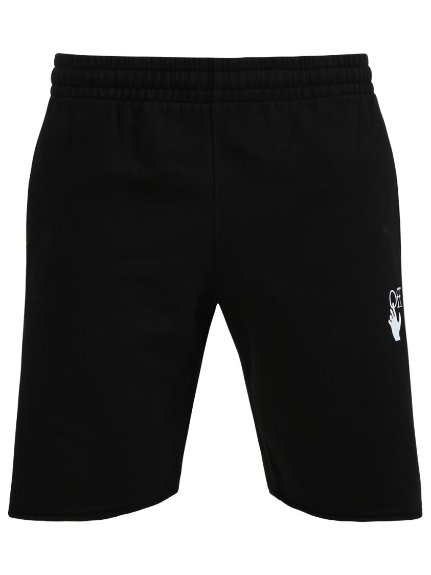 Off-White Cottons MARKER SWEATSHORTS