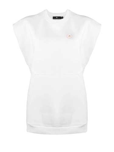 ADIDAS BY STELLA MCCARTNEY WHITE 'MUSCLE' SWEATSHIRT