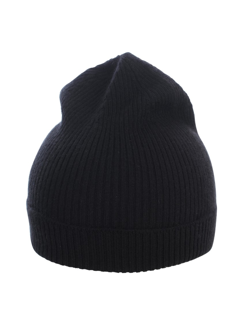Rick Owens CASHMERE RIBBED HAT