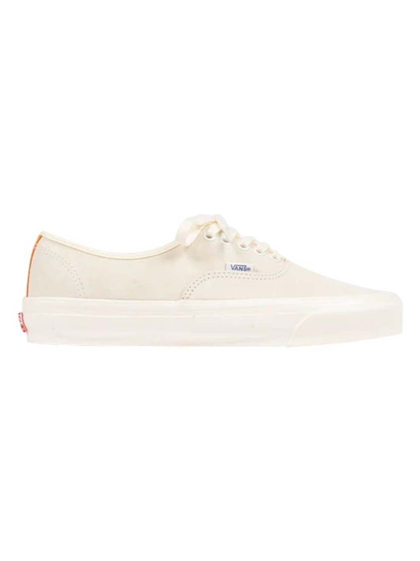Vans Sneakers UA OG AUTHENTIC LX LOW TOP, WHITE AND PERSIMMON ORANGE