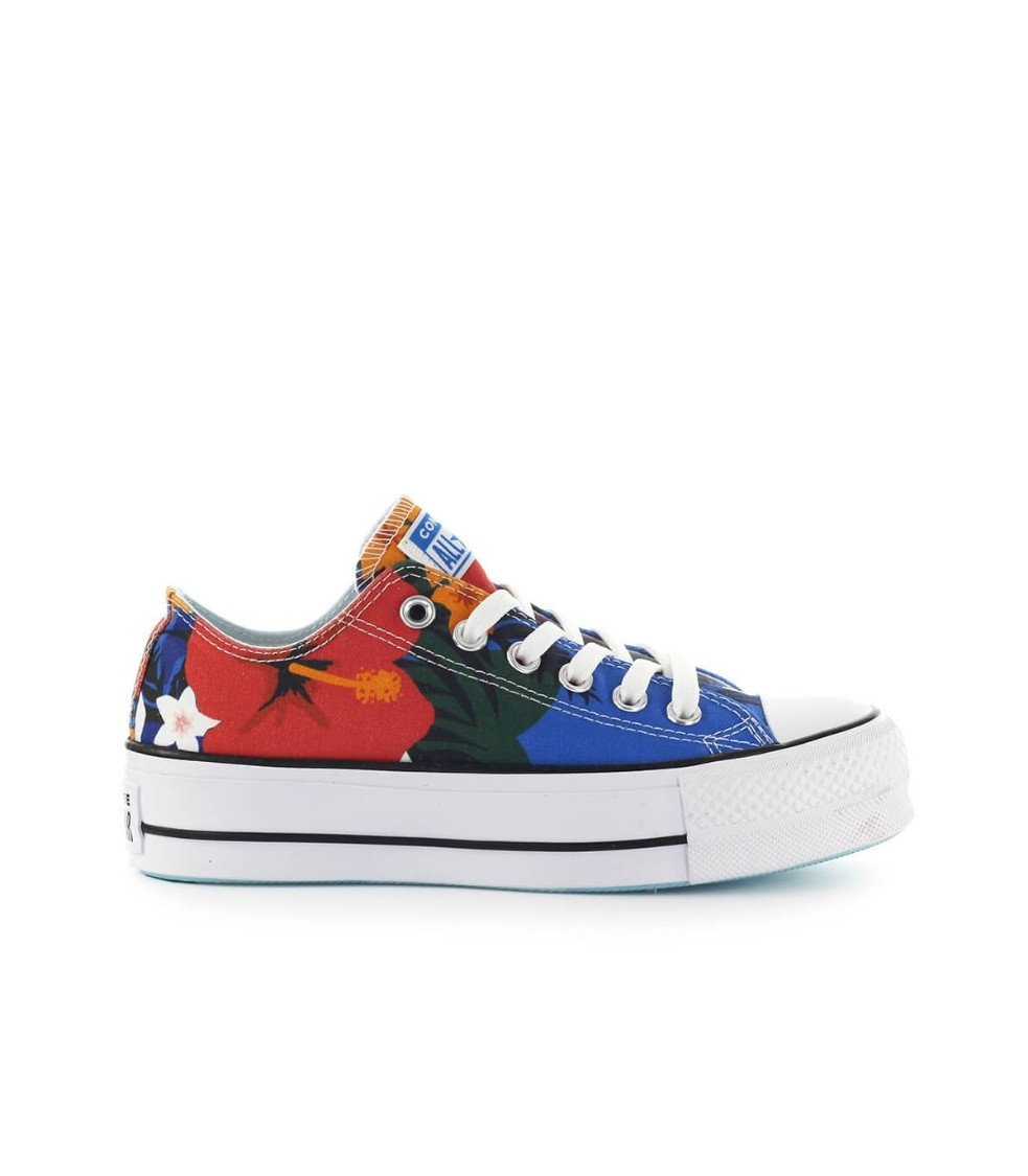 Converse All Star Chuck Taylor Paradise Low Top Sneaker In White