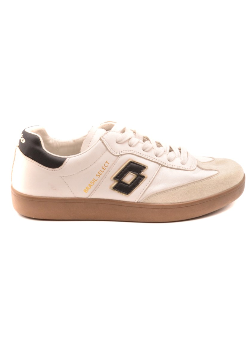 Lotto Leathers WHITE LEATHER SNEAKERS