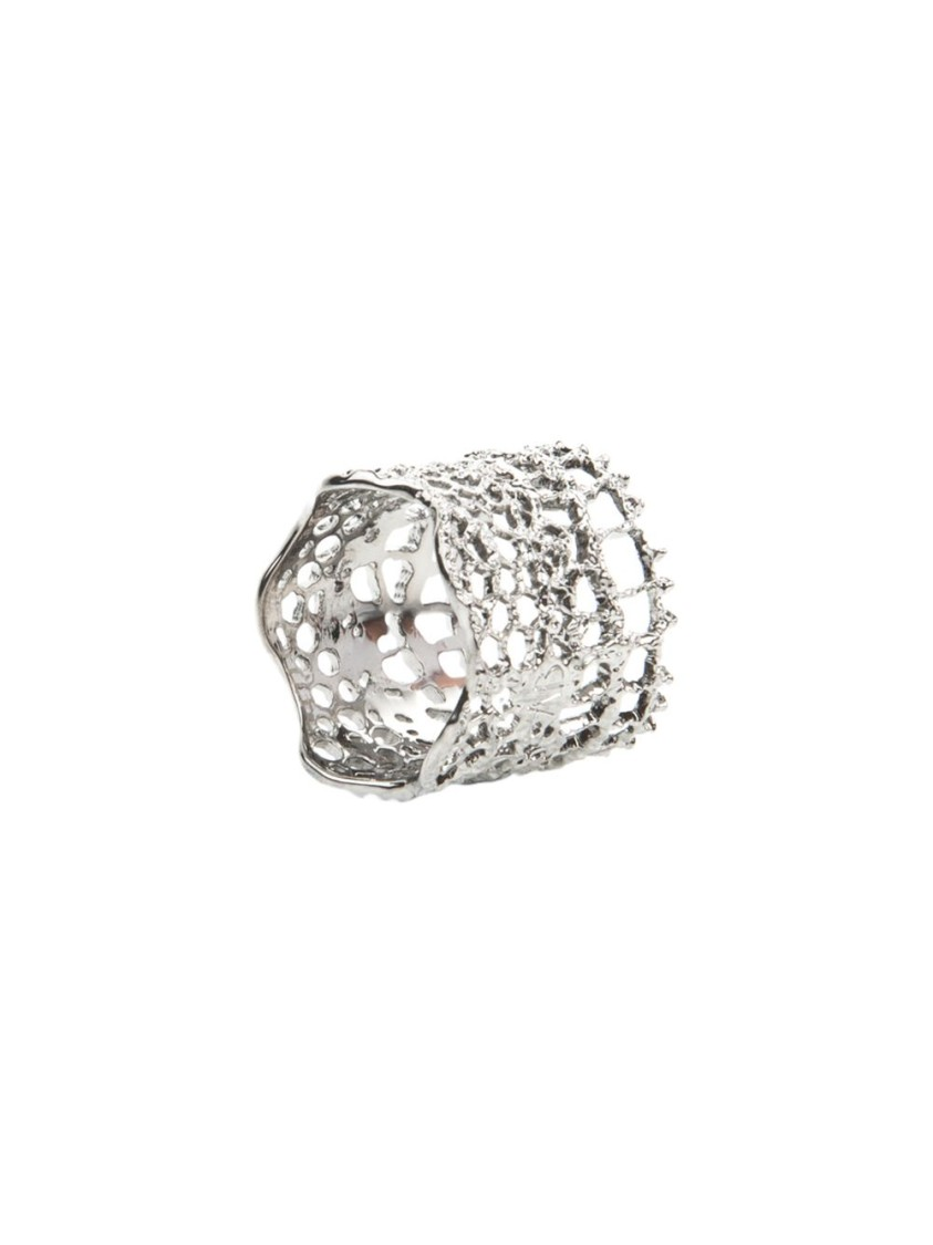 Aurelie Bidermann DENTELLE BAGUE RING SILVER