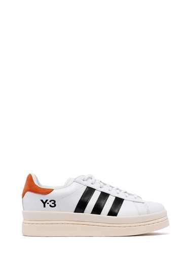 Y-3 LOW 'HICHO' WHITE RED 'HICHO' SNEAKERS