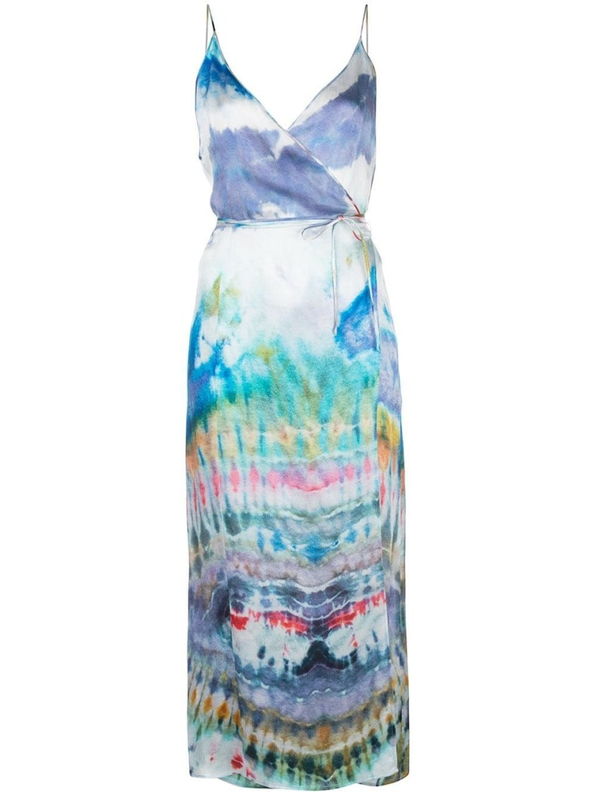 Amiri Dresses TIE DYE MIDI DRESS