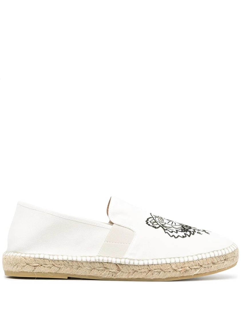 Kenzo Canvases TIGER EMBROIDERED ESPADRILLES