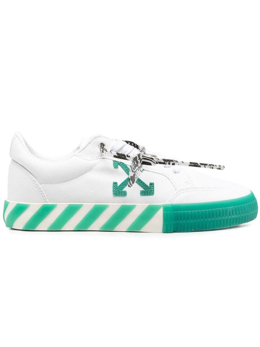 Off-White Low tops LOW VULCANIZED CANVAS SNEAKERS