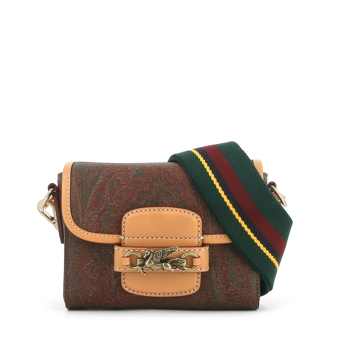Etro PEGASO SHOULDER RAINBOW BAG