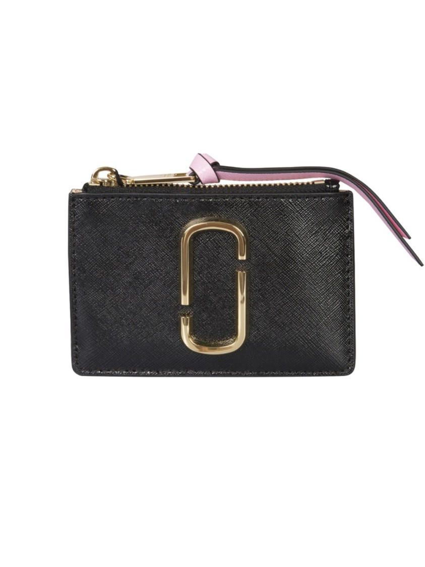 Marc Jacobs Wallets SNAPSHOT BLACK LEATHER WALLET
