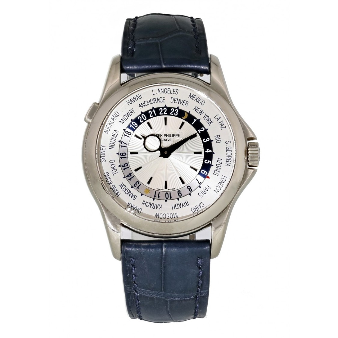 Patek Philippe Cases COMPLICATIONS WORLD TIME 5130G MENS WATCH