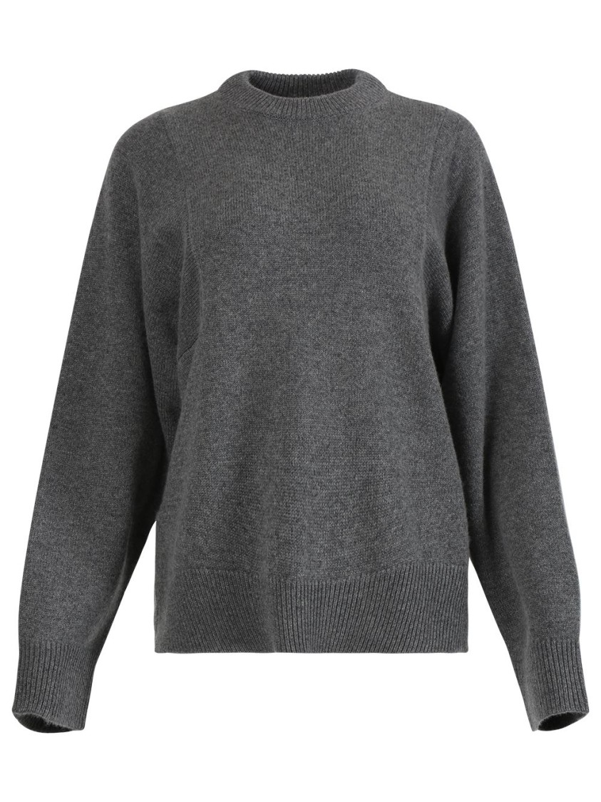 Co Leathers GREY BOXY JUMPER