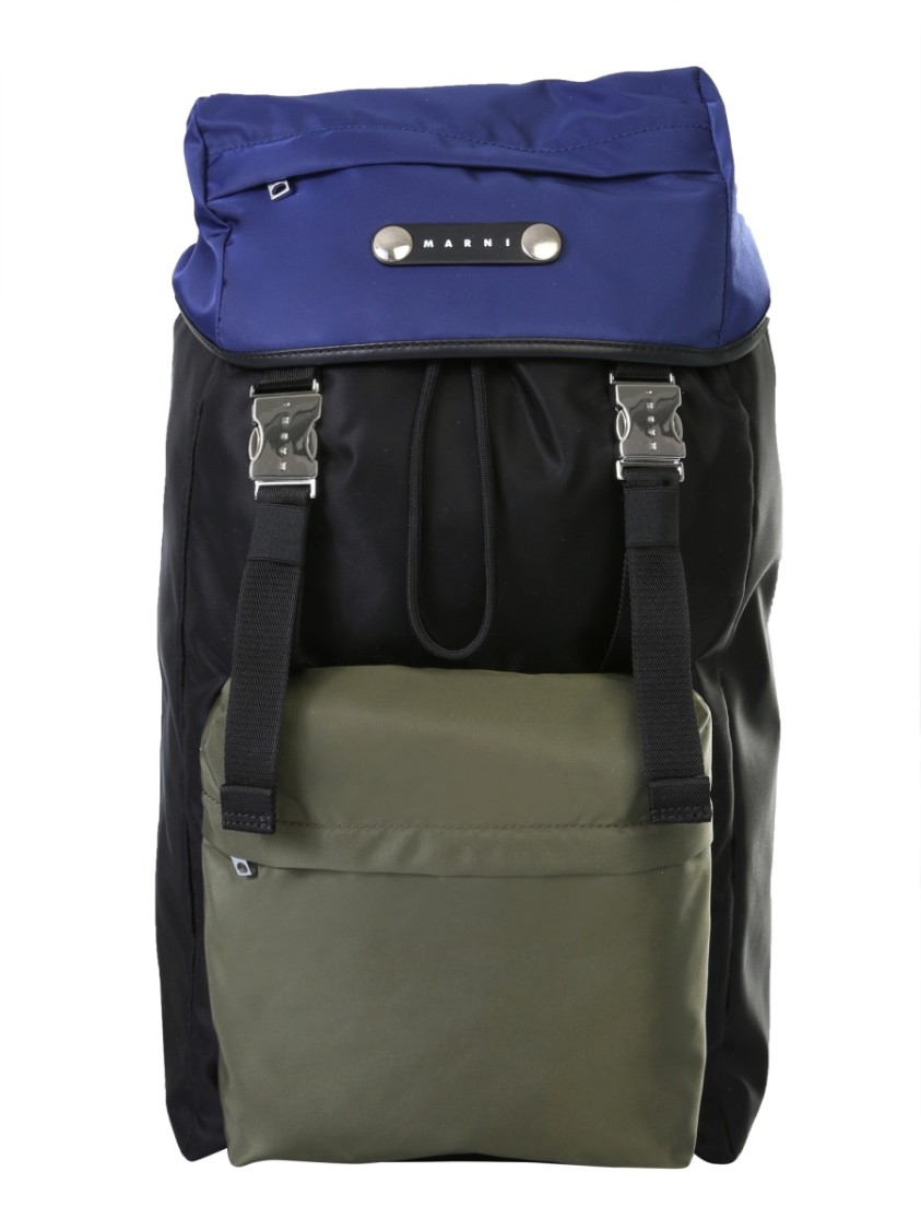 Marni MULTICOLOR POLYESTER BACKPACK