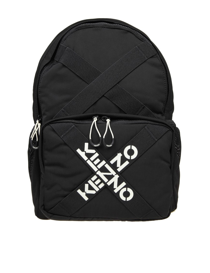 Kenzo BLACK NYLON BACKPACK