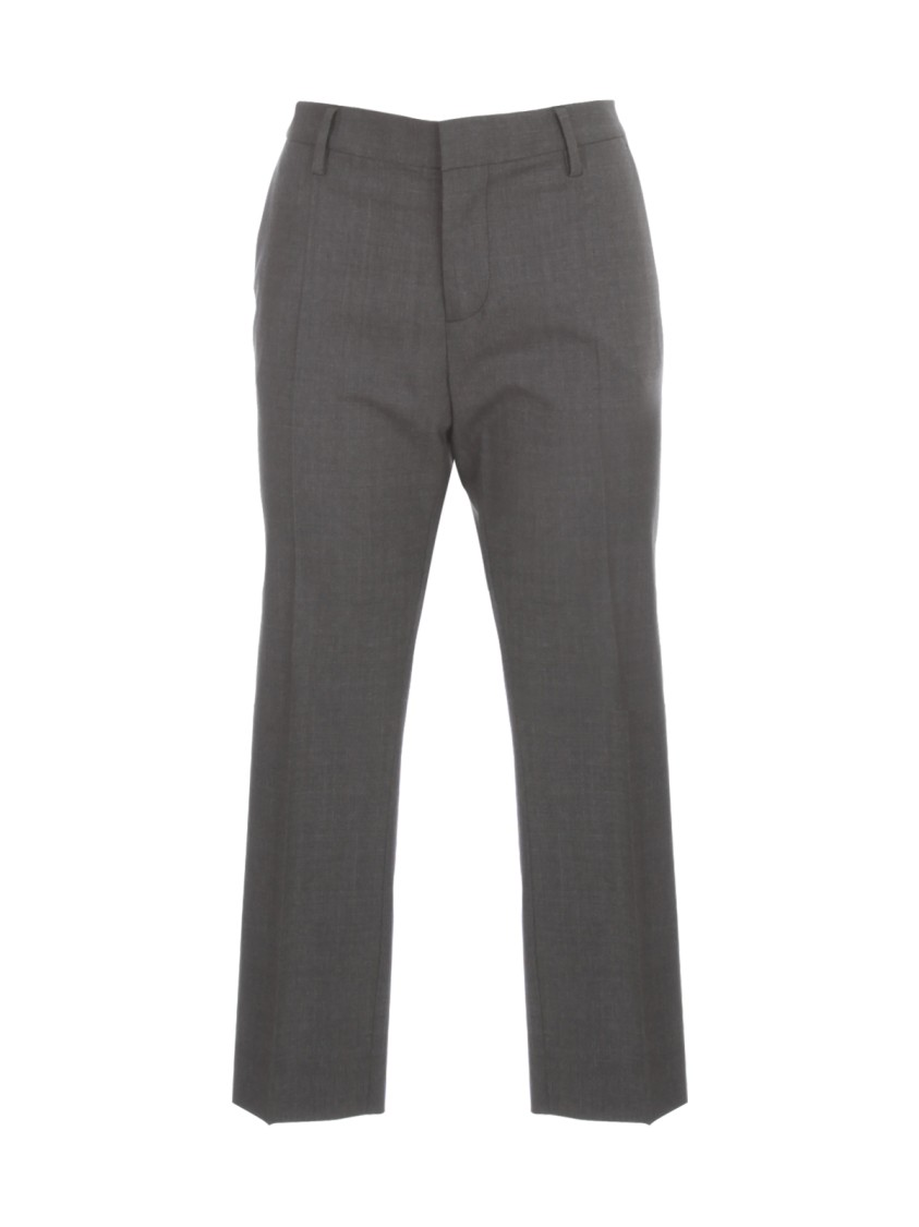 Dsquared2 Wools CROPPED TROPICAL WOOL PANTS