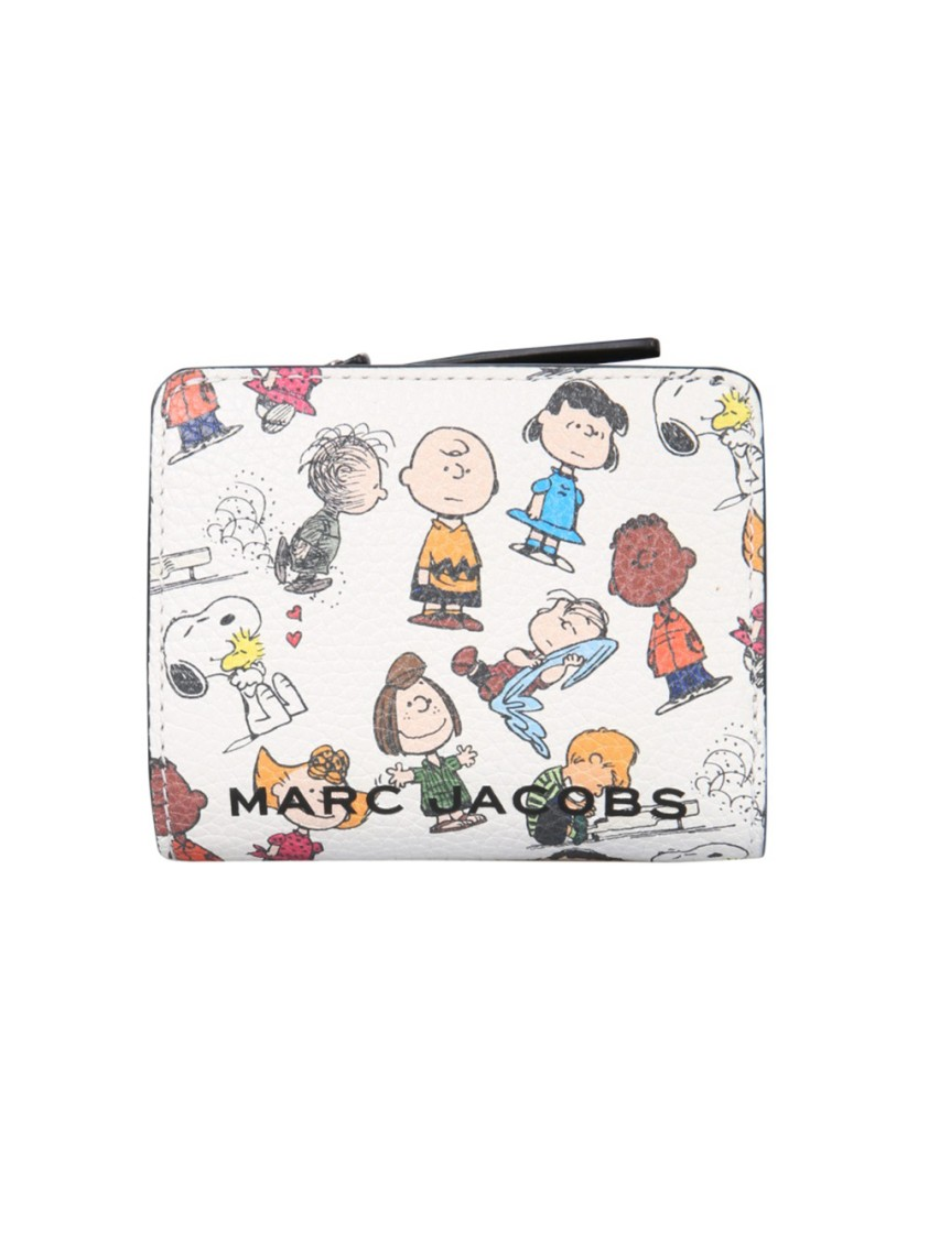 Marc Jacobs MULTICOLOR LEATHER WALLET