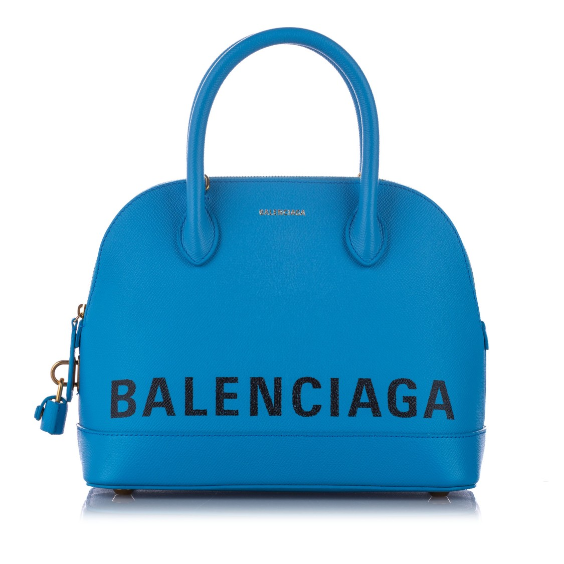 Balenciaga VILLE LEATHER SATCHEL