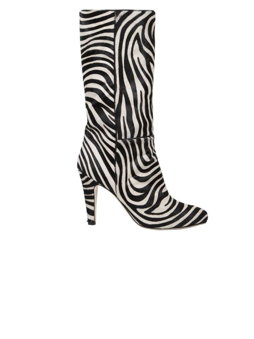 Brother Vellies ZEBRA PLAMS BOOT